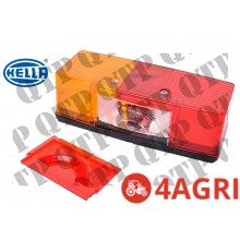 Rear Lamp LH With Number Plate Lamp